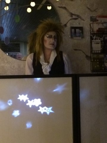 DJ for the evening was The Goblin King himself