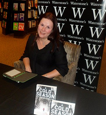 Alison Littlewood at Waterstone's, Leeds