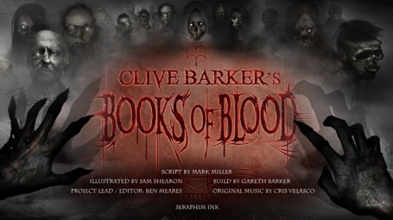 Clive Barker's Books of Blood Comics poster