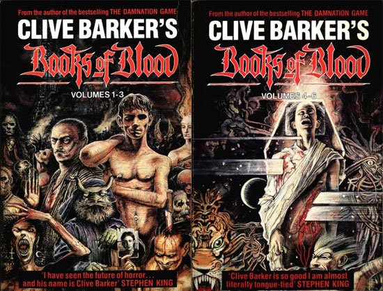 Books of Blood, Clive Barker