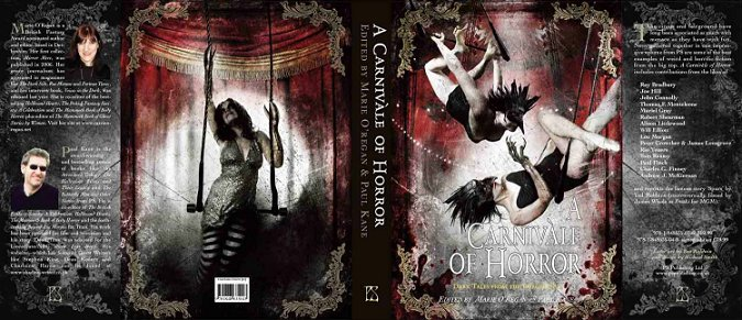 A Carnivale of Horror: Dark Tales from the Fairground - edited by Marie O'Regan and Paul Kane