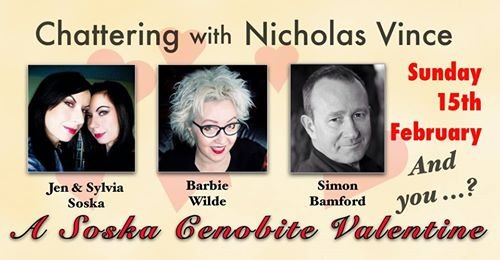 Chattering with Nicholas Vince - A Soska Cenobite Valentine, with Jen and Sylvia Soska, Barbie Wilde and Simon Bamford