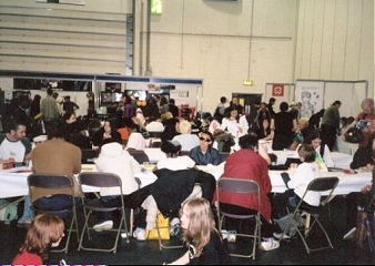 Crowds at London Expo