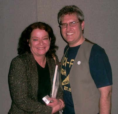 Clare Higgins and Paul Kane