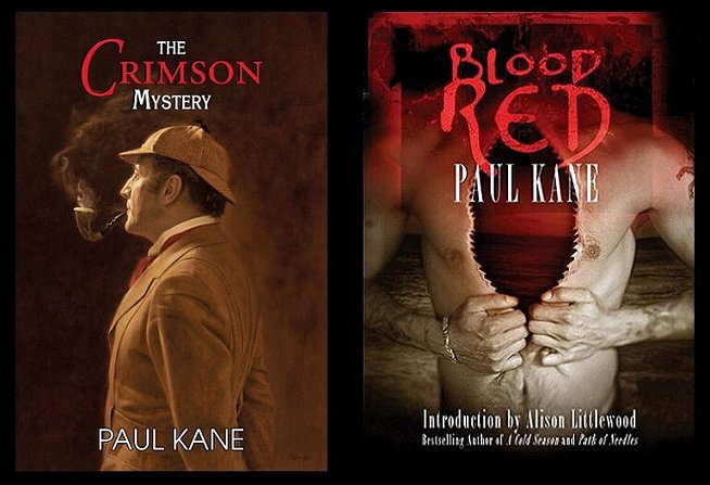 The Crimson Mystery and Blood RED by Paul Kane
