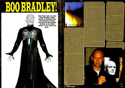Dark Side 132, Interview with Doug Bradley