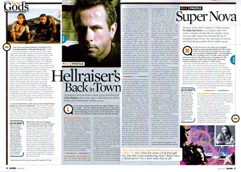 DeathRay Magazine, Hellraiser article