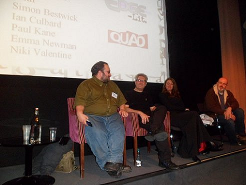 Simon Bestwick, Paul Kane, Emma Newman and Ian Culbard at Edge Lit