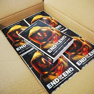 Copies of End of the End, by Paul Kane, Cavan Scott and Simon Guerrier