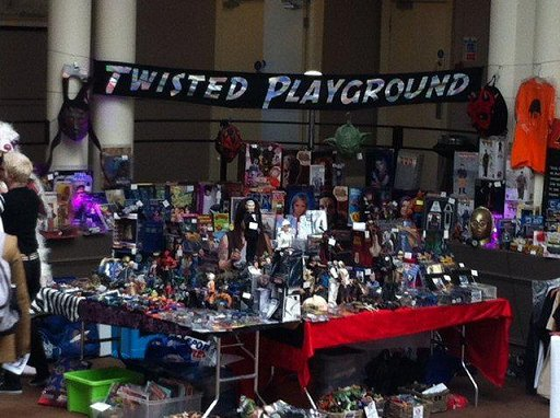Twisted Playground display