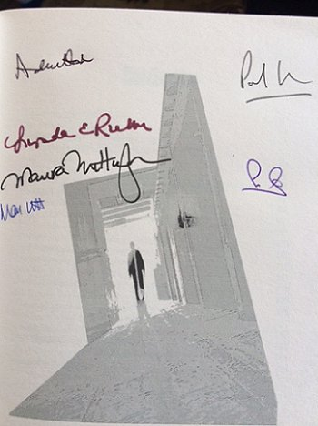 Signed copy of Ten Tall Tales, edited by Ian Whates
