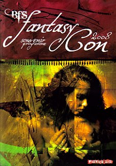 FantasyCon 2008 Souvenir Booklet, cover art by Dave McKean