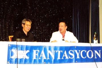 Paul Kane and Clive Barker, FantasyCon 2007