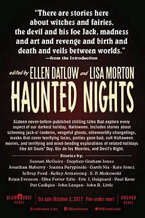Haunted Nights, edited by Ellen Datlow and Lisa Morton