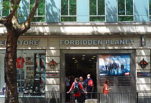 Forbidden Planet Store, London