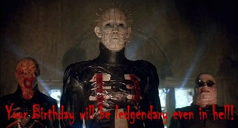 Hellraiser birthday wish