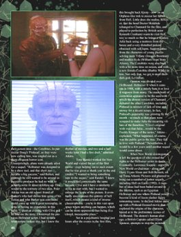 Scars magazine, Hellraiser article Page 3