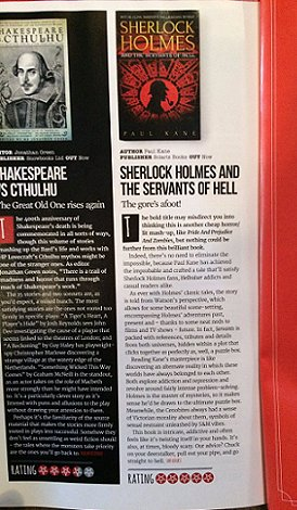 Review of Sherlock Holmes and the Servants of Hell, Horrorville