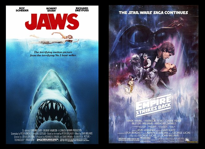 Jaws, The Empire Strikes Back