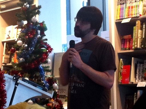 Joe Hill at Waterstones, Liverpool One