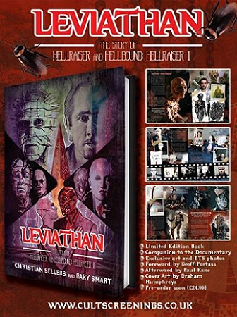 Leviathan - The Story of Hellraiser and Hellbound: Hellraiser II, by Christian Sellers and Gary Smart