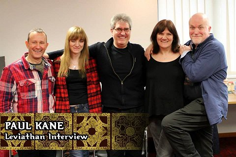 L to R: Simon Bamford (Butterball Cenobite), Jen O'Regan, Paul Kane, Marie O'Regan and Nicholas Vince (Chatterer Cenobite)