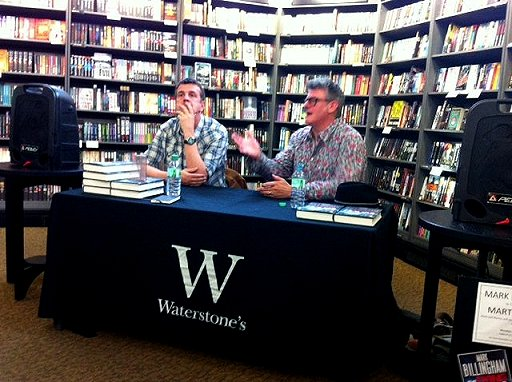 Mark Billingham and Martyn Waites