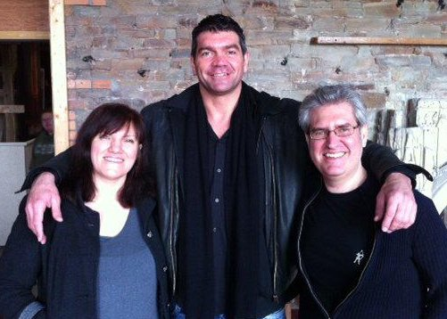 Marie O'Regan, Spencer Wilding, Paul Kane