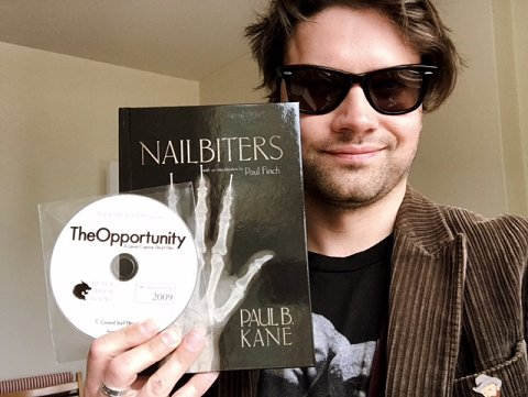 Nailbiters by Paul B. Kane, with The Opportunity DVD and director Lewis Copson