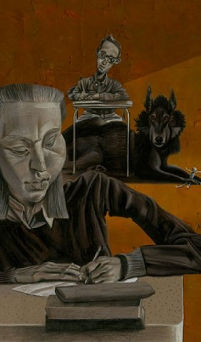 Night Shift, interior artwork, Dave McKean