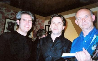 Paul Kane, Michael Marshall Smith, Doug Bradley