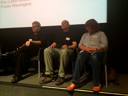 L to R: Paul Kane, Simon Clark, Jan Coleborn-Edwards