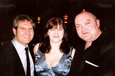 Paul Kane, Marie O'Regan and Pete Atkins