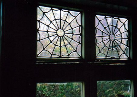 Spider windows, Winchester Mystery House, San Jose, California
