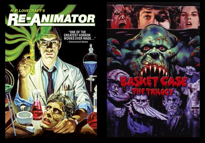 Re-Animator, Basket Case the trilogy