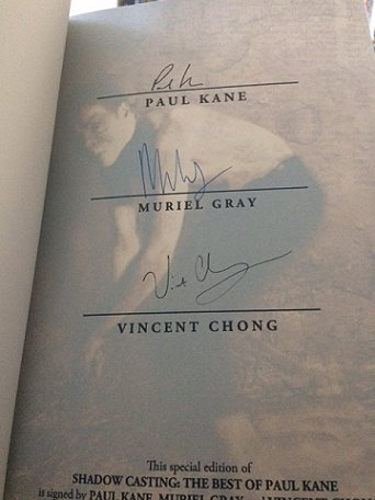Signed limited edition of Shadow Casting by Paul Kane.