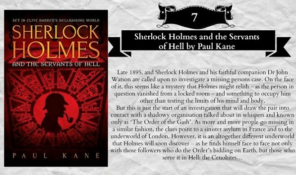 Sherlock Holmes and the Servants of Hell, Paul Kane