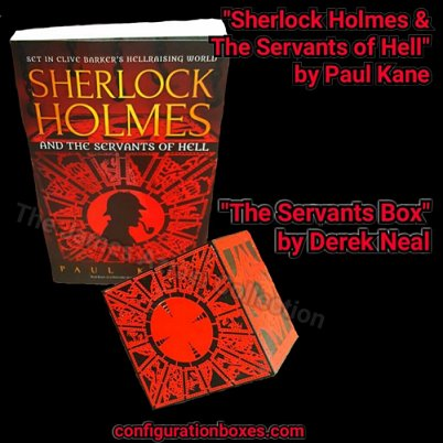 The Servants Box by Derek Neal, based on Sherlock Holmes and the Servants of Hell by Paul Kane