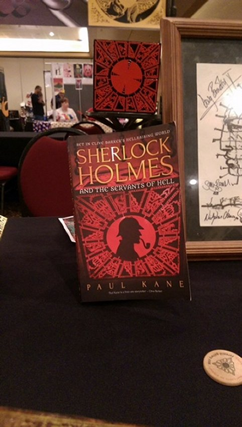 Sherlock Holmes and the Servants of Hell, by Paul Kane; Servants of Hell puzzlebox
