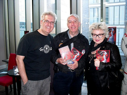 Paul Kane and Barbie Wilde, Sherlock Holmes and the Servants of Holmes signing, Waterstone's Liverpool One
