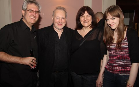L to R: Paul Kane, Stephen Jones, Marie O'Regan and Jennifer O'Regan