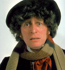 Tom Baker, the fourth Doctor Who