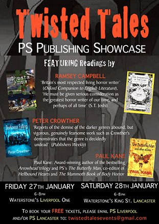 Twisted Tales PS Publishing Showcase