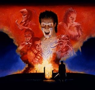 Nightbreed, artwork by Les Edwards
